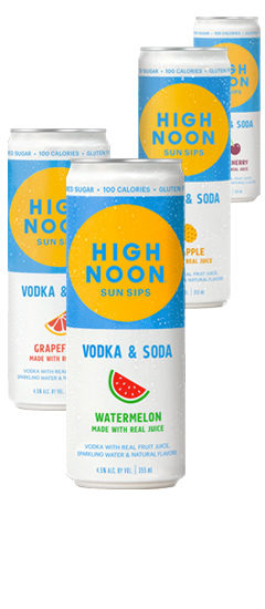 High Noon Sips Cans
