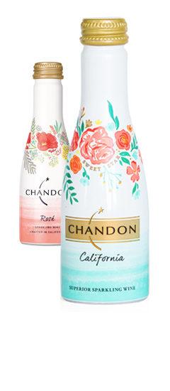 Chandon Sweet Star Brut & Rose Aluminum Cans