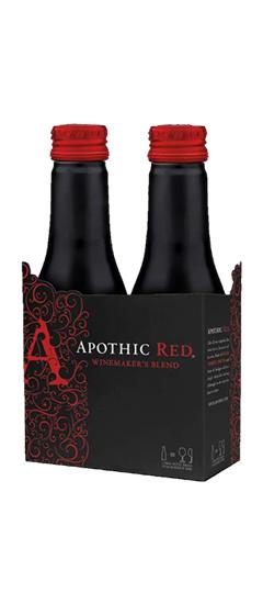 APOTHIC RED BOTTLES