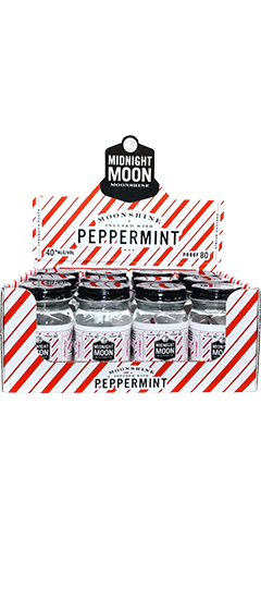 Peppermint Midnight Moon Moonshine