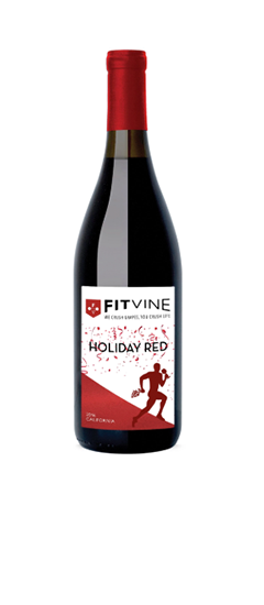 Fitvine Holiday Red