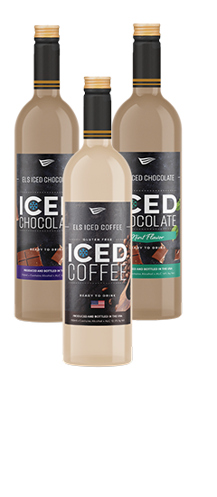 Els Iced Chocolate, Els Iced Mint Chocolate and Els Iced Coffee