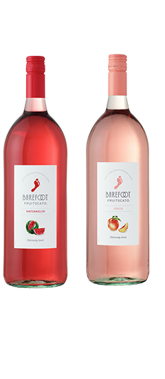 Barefoot Fruitscato Apple, Peach, Strawberry and Watermelon