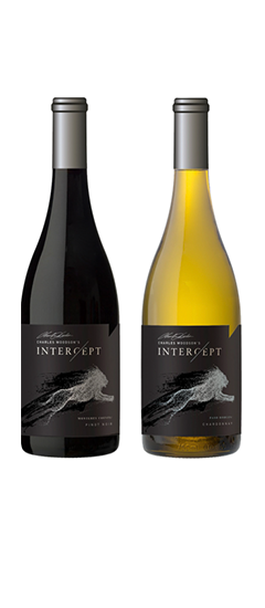 Intercept Pinot Noir and Chardonnay