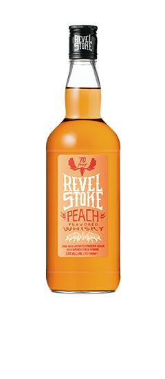 Revel Stoke Peach Whiskey