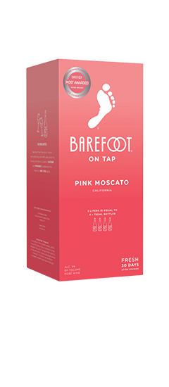 Barefoot Pink Moscato ON TAP