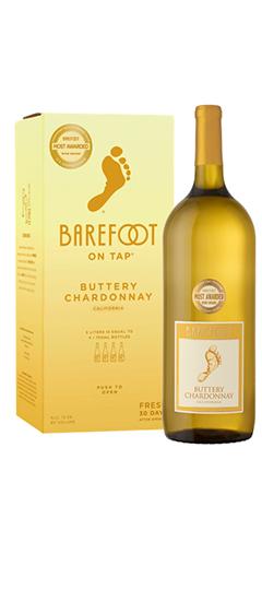 Barefoot Buttery Chardonnay Box & 3L