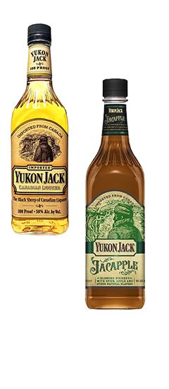 Yukon Jack Honey, Apple and Fire